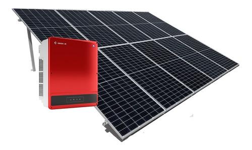 Imagen 1 de 5 de Kit De 10 Paneles Solares 450w Completo -1150kwh Bimestral