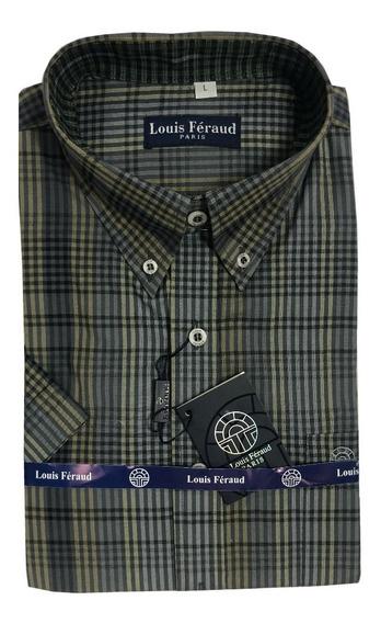 Camisas De Cuadros Louis Feraud Manga Corta 102247