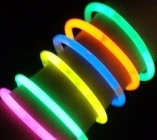 Hora Loca Cotillón 100 Pulseras Glowstick Neon Fluorescent