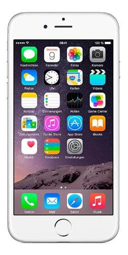 Imagem 1 de 4 de  iPhone 6 16gb Usado Prateado Mt Bom Seminovo