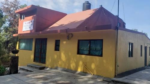 Casa De Campo De 2 Niveles En El Camil , Tlalnepantla