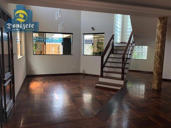 Sobrado Com 3 Dormitórios À Venda, 300 M² Por R$ 1.269.000,00 - Jardim - Santo André/sp - So2255