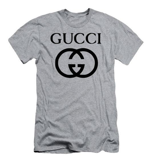Camiseta Camisa Masculina Gucci Logo Tumblr Swag