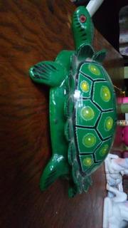 Tortuga Verde De Seramica