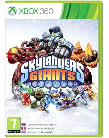 Skylanders Giants + Portal + 3 Personagens - Xbox 360 -usado