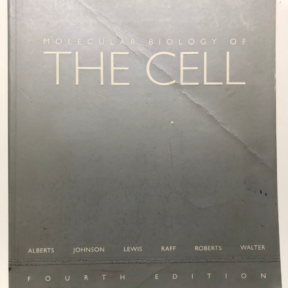 Livro Molecular Biology Of The Cell 4ed Alberts, Johnson.