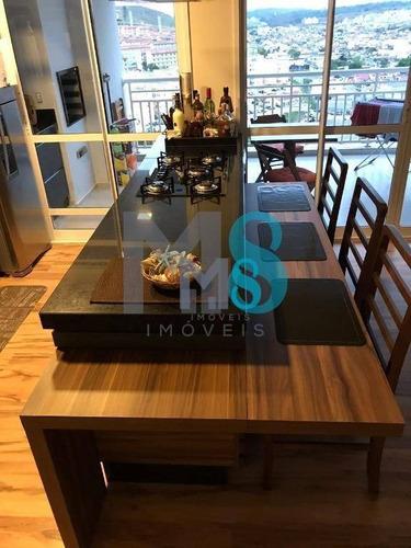 Imagem 1 de 16 de Apartamento Com 3 Dormitórios À Venda, 114 M² Por R$ 730.000,00 - Vila Suissa - Mogi Das Cruzes/sp - Ap0188
