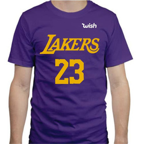 Playera Estampada Lakers Lebron James Nba