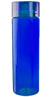 Cilindro Anfora Termo Azul Traslucido Tapa Azul 700m Oferta