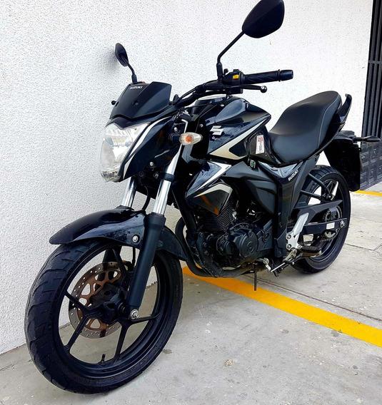 Moto Suzuki Gixxer 155 Cc, Año 2018, Papeles Al Dia