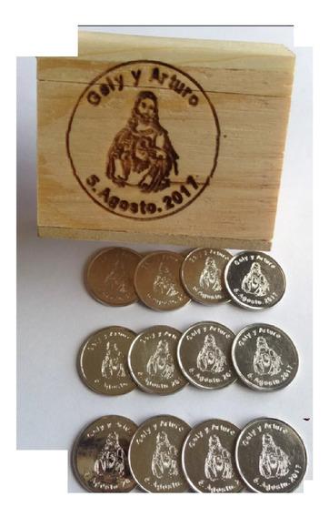 $1,500 Arras Plata Ley .300 Sagrado Corazón Al Gusto / Caja