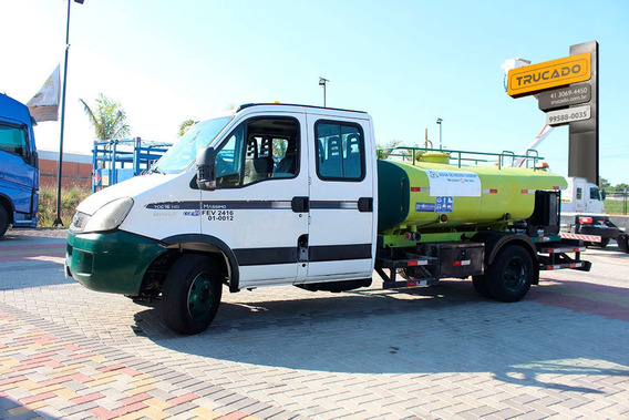 Iveco Daily 70c16 3/4 2012 Cab Dupla Tanque Pipa