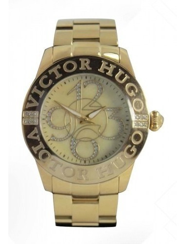 Relógio Victor Hugo Feminino Vh10038 Original