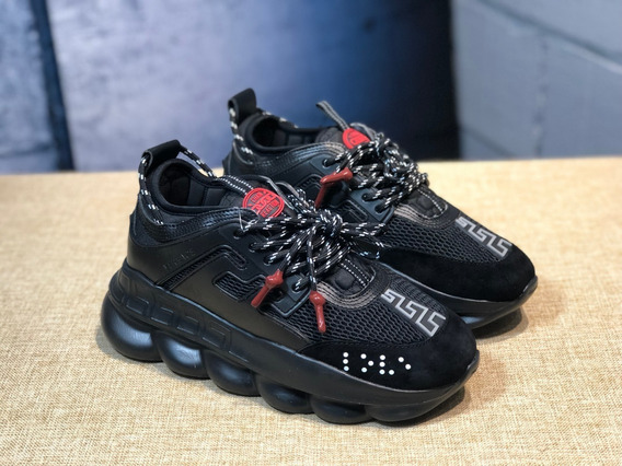 Versace Chain Reaction Black Red