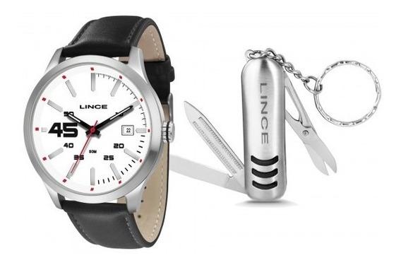 Relógio Lince Mrc4356s Kt39b2px Kit Chaveiro Masc- Refinado