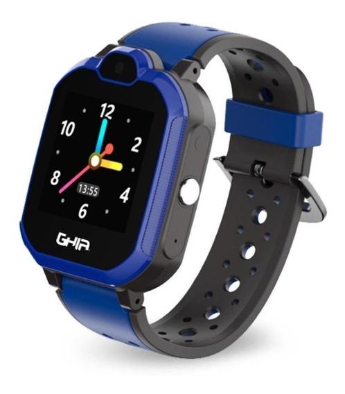 Smartwatch Ghia Kids Azul 4g Lte Gps Sms Llamadas Emergencia