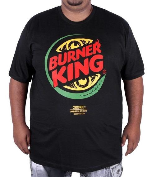 Kit 3 Camisetas Chronic Plus Size Tamanho Big Envio Imediato