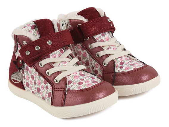 Zapatilla Cherry Guinda Limonada