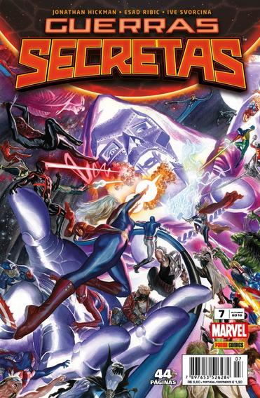 Guerras Secretas - Saga Completa Marvel