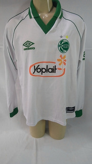 Camisa De Futebol Juventude Caxias De Jogo Manga Longa 1999