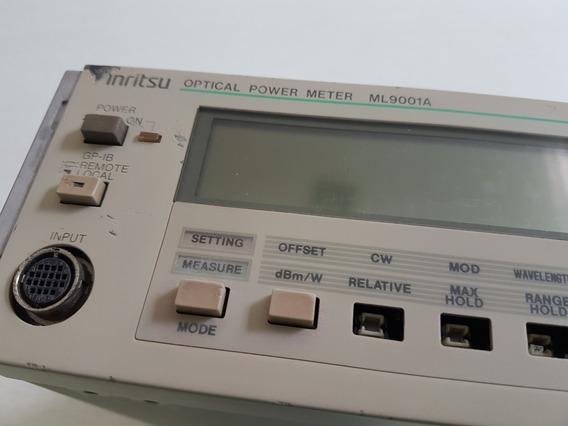 Power Meter Anritsu Óptico Ml9100 No Estado Sem Garantia