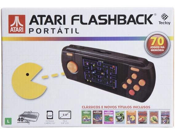 Atari Flashback - Atari Portátil 70 Jogos
