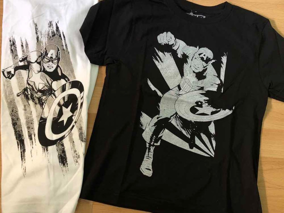 Remeras Comics. Importadas. Originales