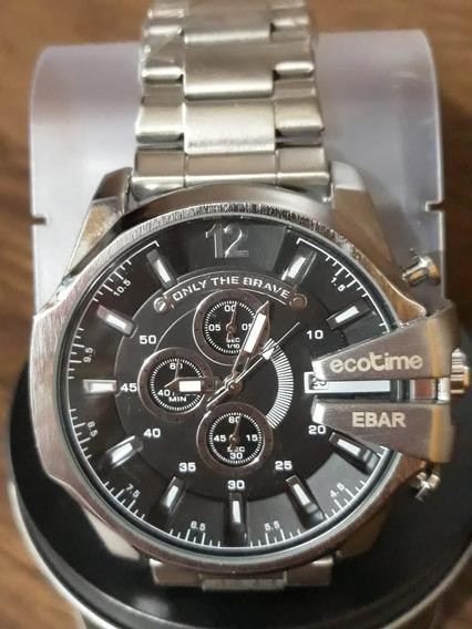 Relógio Ecotime Original Á Prova D