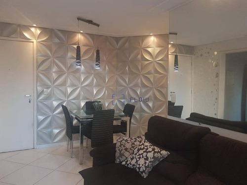 Apartamento À Venda, 60 M² Por R$ 420.000,00 - Vila Das Mercês - São Paulo/sp - Ap11992