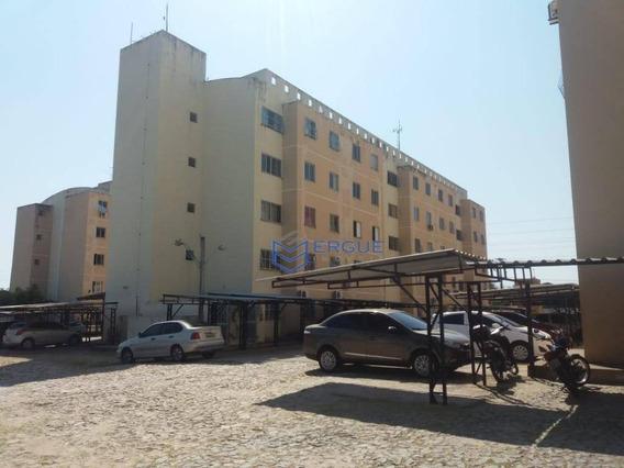 Apartamento Para Alugar, 50 M² Por R$ 500,00/mês - Itaperi - Fortaleza/ce - Ap0413