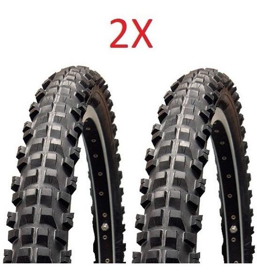 Par Pneu Bike Vee Rubber Stout Aro 26 X 2.30 58-559 Dh Mtb
