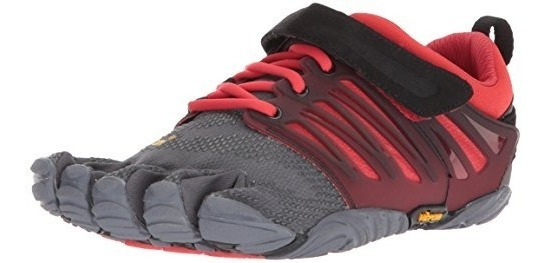 Vibram Men S V-train Gris / Negro / Rojo Cross Trainer