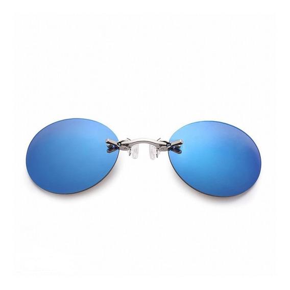 Gafas De Sol Matrix Clip En La Nariz Sin Montura Futuristas