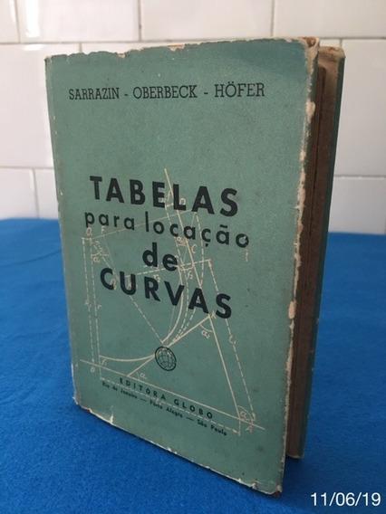* Tabelas Para Locação De Curvas - Editora Globo *