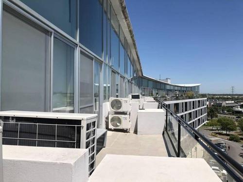 Increíbles Tres Oficinas Unidas Con Tres Balcones Terraza En