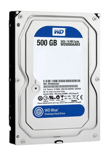 Disco duro interno Western Digital WD5000AAKX 500GB azul