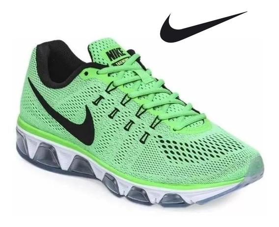 Tenis Nike Airmax Tailwind 8 Verde-originales 805941-300