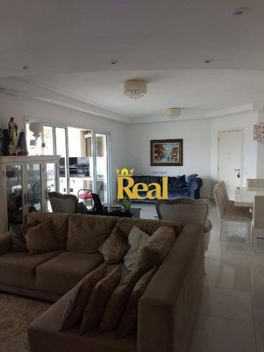 Apartamento À Venda, 133 M² Por R$ 1.440.000,00 - Vila Romana - São Paulo/sp - Ap6124