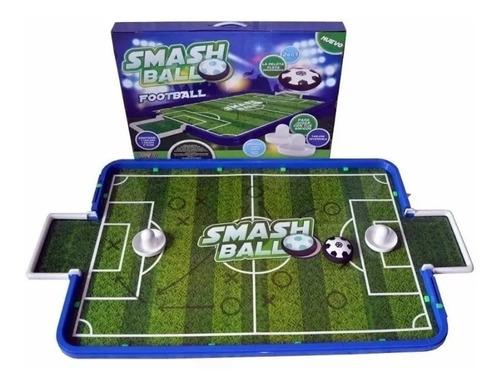 Imagen 1 de 10 de Mesa Tejo Electrico Infantil Smash Ball Futbol O Hockey 2en1