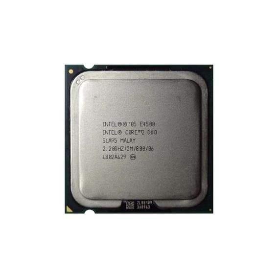 Core 2 Duo E4500 Dual Core Bus 800 2,20 Ghz