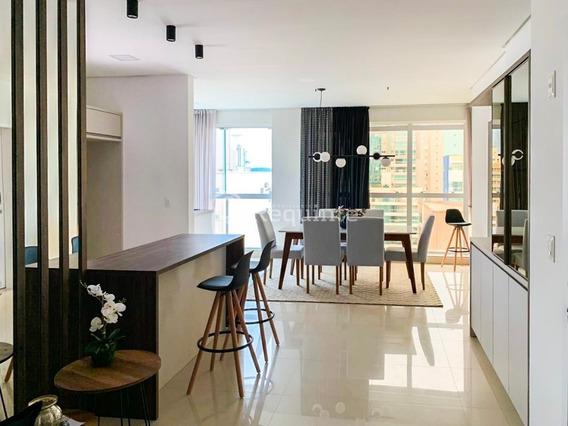 Apartamento Mobiliado Com 3 Suítes Em Itapema - 712