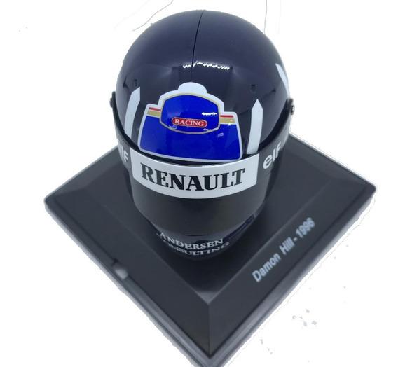 Cascos Grandes Premios F1 Nº 48 Damon Hill Renault 1996