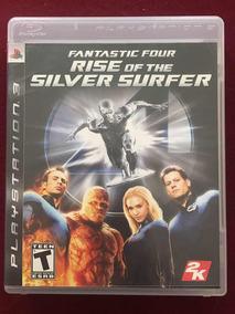 Fantastic 4 Rise Silver Surfer Jogo Ps3 Físico Usado Ótimo