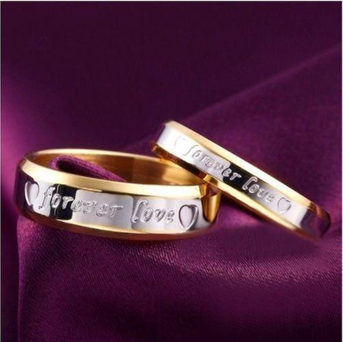 Par De Aliança Banhada Ouro 18k Casamento Noivado Namorados