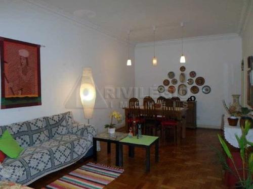 Imagem 1 de 10 de Apartamento À Venda, 3 Quartos, 1 Suíte, Flamengo - Rio De Janeiro/rj - 10140