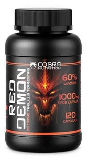 Tribulus Terrestris Red Demon 120 Caps 1000mg 60% Saponins