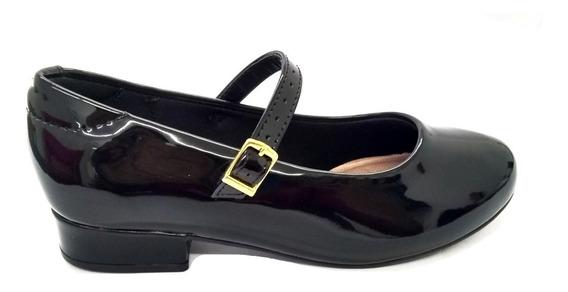 Sapato Infantil Molekinha Verniz Preto 2528