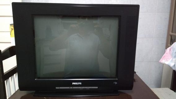 Tv Philips - 21 Polegadas / Usada
