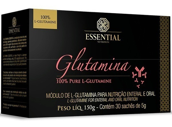 Glutamina 30 Saches/5g - Essential Nutrition
