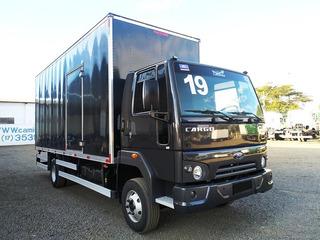 Ford Cargo 1119 2019 3/4 Baú Facchini Seminovo, Sb Veiculos